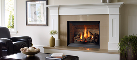 A Gas Fireplace